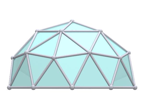 2V 4 8 Icosahedron Dome