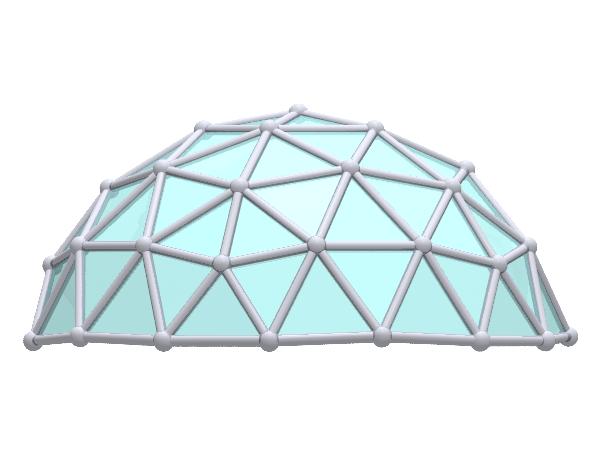 3V 4 9 Icosahedron Dome