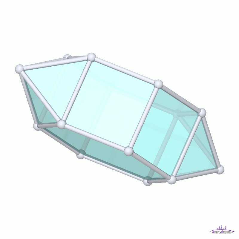 home images parabiaugmented hexagonal prism parabiaugmented hexagonal    Hexagonal Pyramid Faces Edges Vertices