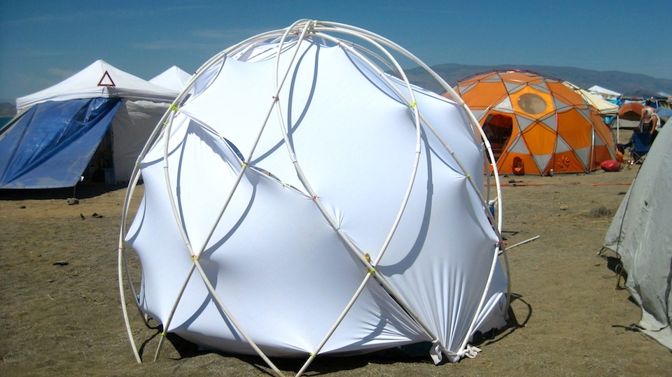 He shared also some of his experiences : diy dome tent - memphite.com